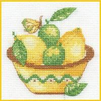 Набор для вышивания ДМС Лимон BK988