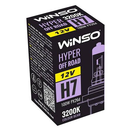 Галогенна лампа Winso HYPER OFF ROAD H7 12V 100W PX26d 3200 K (712710), фото 2