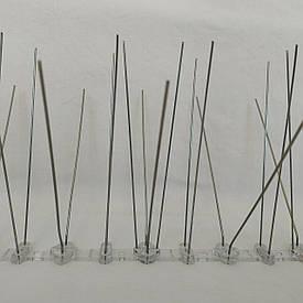 Профессиональные шипы 50 шт от птиц противоприсадные металлические (0,5 м)