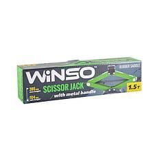 Домкрат винтовой WINSO 121510 1,5т 104-385мм, фото 2
