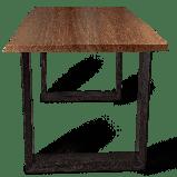Стол из массива дерева в стиле лофт, фото 2