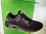 Чоловічі кросівки в стилі Zoom Shield Structure 15 Black/Green, фото 3