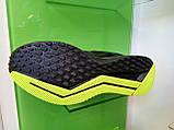 Чоловічі кросівки в стилі Zoom Shield Structure 15 Black/Green, фото 6