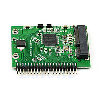 "Адаптер переходник 2.5"" 44 pin для старых ноутбуков под установку SSD mSATA"