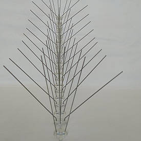 Противоприсадные шипы 50 шт от птиц предназначены для защиты зданий (0,5 м)