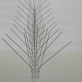 Противоприсадные шипы 50 шт от птиц предназначены для защиты балконов (0,5 м)