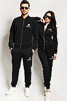 Парные костюмы Моторспорт черные, фото 1