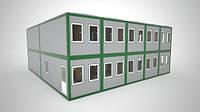 Модульные здания, Ангар, Склад, Цех, Навес