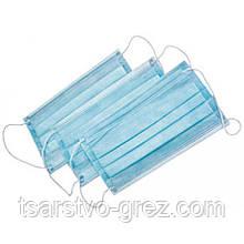Маска защитно-косметическая четырехслойная, водонепроницаемая