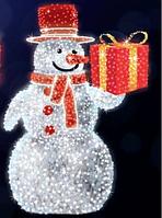 "3D светодиодная фигура ""Снеговик"" 250X160cm"