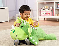 Плюшевий динозавр/подушка, Melissa&Doug, фото 1