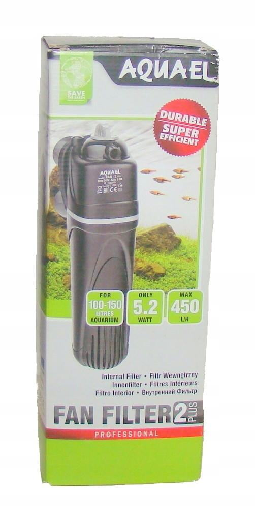 Внутрішній Фільтр Aquael Fan 2 Plus 90-450 л/год (до 150 літрів) з регулюванням потоку