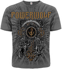 """Футболка Powerwolf """"Metal Is Religion"""" (graphite t-shirt), Размер S"""