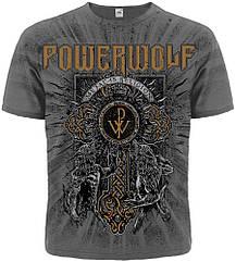 "Футболка Powerwolf ""Metal Is Religion"" (graphite t-shirt), Размер XL"