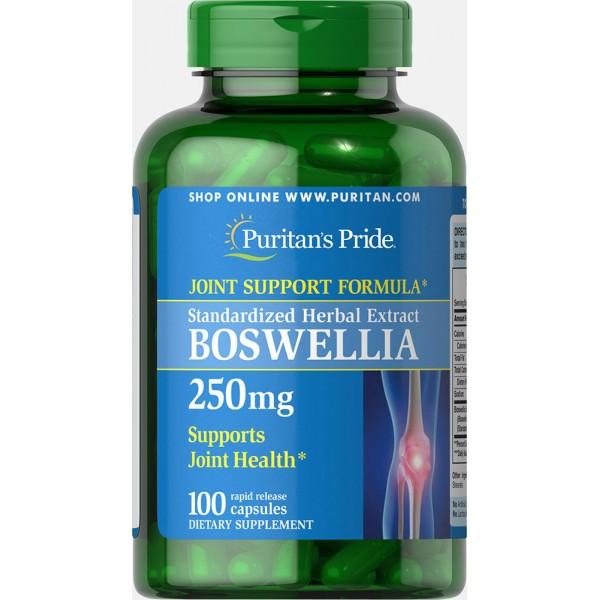 Puritan's Pride Boswellia, Босвеллия  Standardized Extract 250 mg (100 капс.)