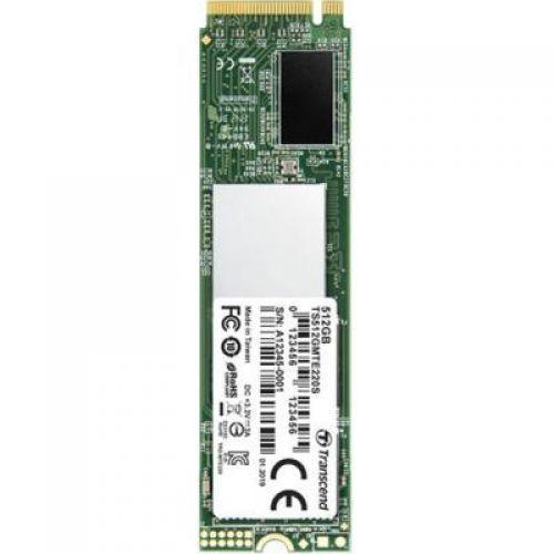 Диск SSD M.2 2280 512GB Transcend (TS512GMTE220S) (Магазин М8)