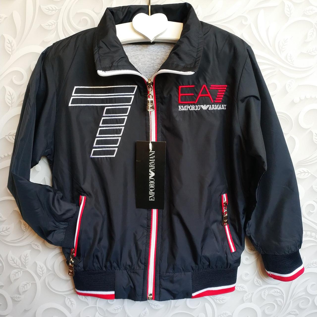 Детская ветровка, легкая куртка Armani