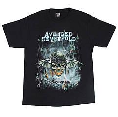 "Футболка Avenged Sevenfold ""Black Reign"" (Red Rock), Размер M"