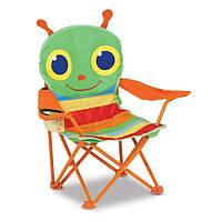 """Раскладной стульчик """"Счастливая стрекоза"""", Melissa&Doug"""