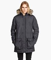Мужская зимняя куртка парка H&M Divided parka