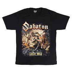 "Футболка Sabaton ""The Great War"" (Red Rock), Размер M"