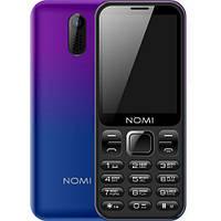 Мобильный телефон Nomi i284 (Violet/Blue)