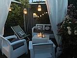 Комплект садовой мебели Allibert by Keter Corfu Triple Set White ( белый ), фото 8