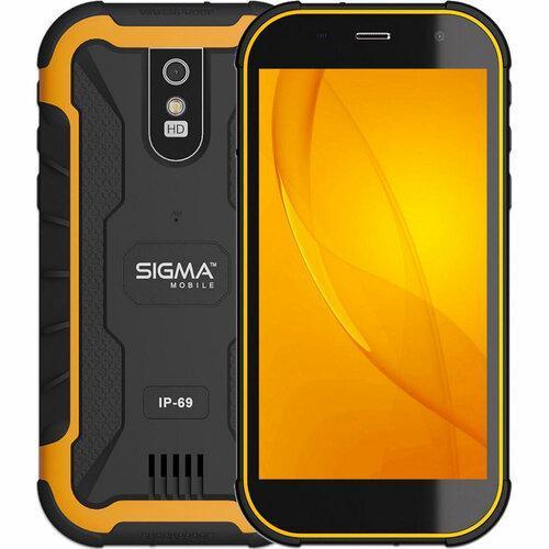 Мобильный телефон Sigma Mobile X-treme PQ20 (Black/Orange)