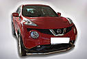 Защита переднего бампера (ус одинарный) Nissan Juke 2014+, фото 3