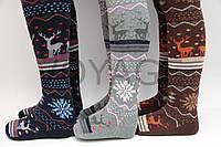 Зимние колготы MELATTI разных цветов с узором для девочек 7,9,11