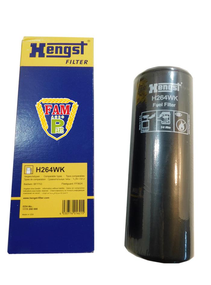 Фильтр топливный H264WK Hengst, 363204 Claas