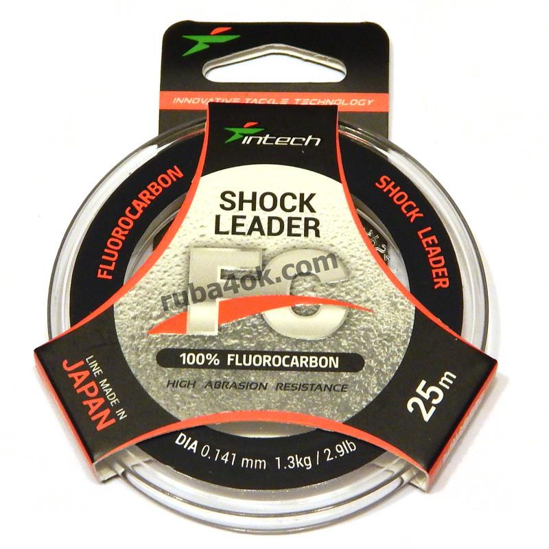Флюорокарбон Intech FC Shock Leader 0.141мм 25м (1.3kg / 2.9lb)