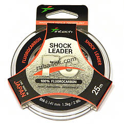 Флюорокарбон Intech FC Shock Leader 0.141мм 25м (1.3kg / 2.9lb)