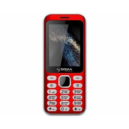 Мобильный телефон Sigma mobile X-style 33 Steel Dual Sim (Red)