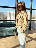Куртка-косуха еко шкіра DM1621, фото 5