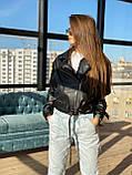 Куртка-косуха еко шкіра DM1621, фото 2