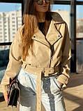 Куртка-косуха еко шкіра DM1621, фото 4