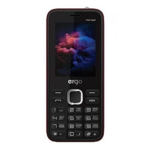 Мобильный телефон Ergo F243 Swift Dual Sim (Black)