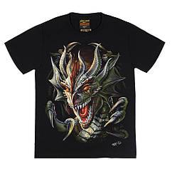 Футболка Dragon Head (светится в темноте), Размер XL