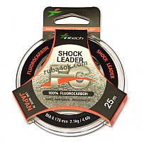 Флюорокарбон Intech FC Shock Leader 0.178мм 25м (2.1kg / 4.6lb)