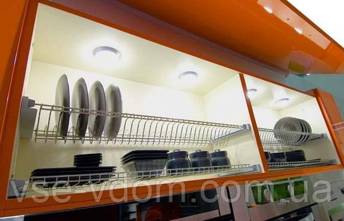 Сушка для посуды в шкаф 700 мм. хром