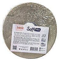 Туалетная бумага Soffi PRO Basic JTP из макулатуры (1 слой, 1440 листов) на гильзе - 1 рулон