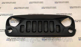 Radiator grille for Jeep Wrangler
