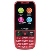 Мобильный телефон Sigma mobile Comfort 50 Elegance3 Dual Sim (Red)