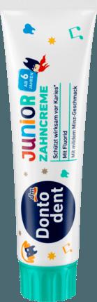 Дитяча зубна паста Dontodent Zahncreme Junior 6+ 100мл