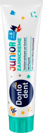 Dontodent детская зубная паста Zahncreme Junior 6+ 100мл