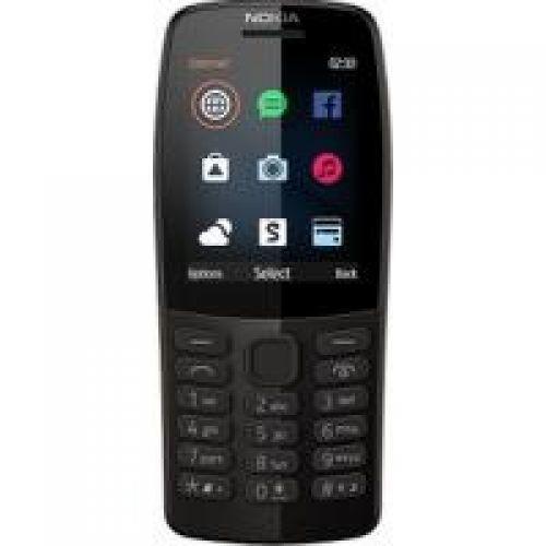 Мобильный телефон Nokia 210 Dual Sim (Black)