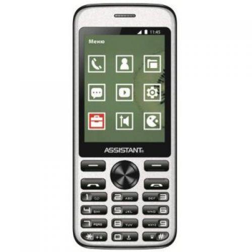 Мобильный телефон Assistant AS-204 Dual Sim (Black)