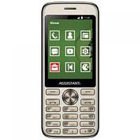 Мобильный телефон Assistant AS-204 Dual Sim (Gold)