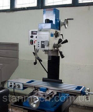 Zenitech BFM 35 Vario L фрезерный станок по металлу
